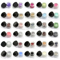 Free Shipping Hot Sale New Makeup Waterproof Eyeliner Gel Cream Eyes Cosmetic 30 COLOR Eye Liner