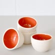 Stacking Thimble Cups - Coral