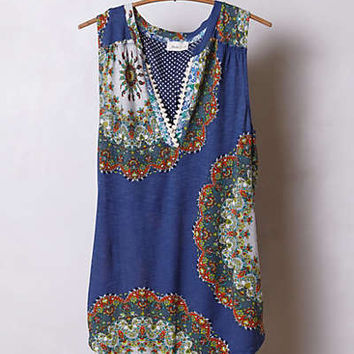 Anthropologie - Split Image Top