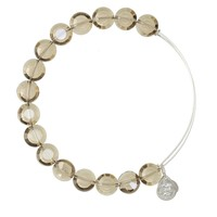 Smoke Luxe Bead Bangle