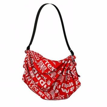 BLACK IS BEAUTIFUL POLYGLOT SLOUCH BAG