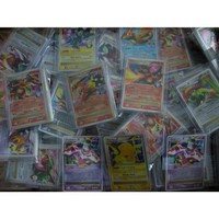 30 Pokemon Card Pack with Lv.X or EX Card + BONUS MEW CARD Included in Every ...