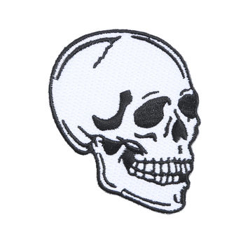 Loungefly Skull Iron-On Patch