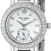 kate spade new york Women's 1YRU0566 Gramercy Mini Analog Display Japanese Quartz Silver Watch