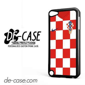 Croatia Soccer Jersey For Ipod 5 Ipod Touch 5 Case Phone Case Gift Present YO