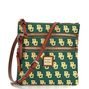 Dooney & Bourke Baylor University Triple Zip Cross-Body Bag | Dillards