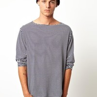 American Apparel Stripe Long Sleeve Top