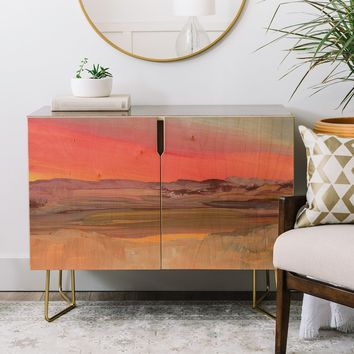 Viviana Gonzalez Improvisation 01 Credenza | Deny Designs Home Accessories