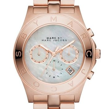 MARC BY MARC JACOBS 'Blade' Chronograph Bracelet Watch, 40mm (Nordstrom Exclusive)