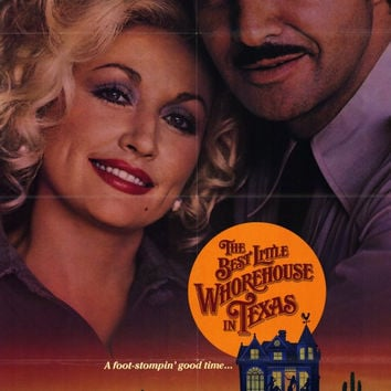 The Best Little Whorehouse in Texas 11x17 Movie Poster (1982)