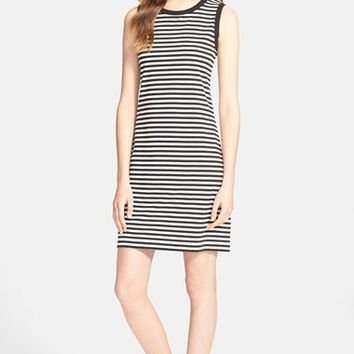 Women's kate spade new york stripe cutout dress,