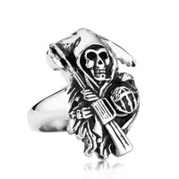 Sons Of Anarchy Grim Raper Ring