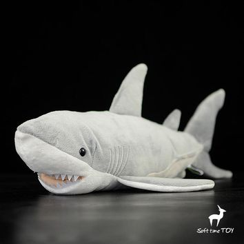 Great White Shark Stuffed Animal Plush Toy