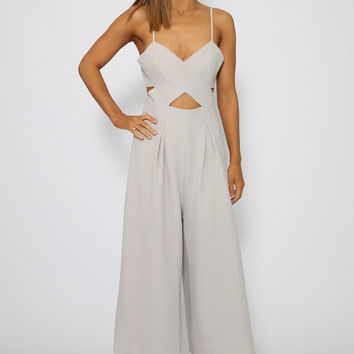 Ciara Jumpsuit - Grey