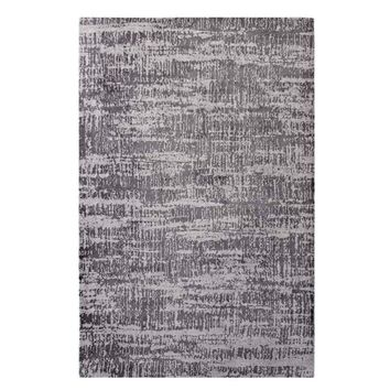 Darja Distressed Rustic Modern 5x8 Area Rug, Light and Dark Gray -Modway