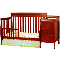 AFG Kimberly 4-in-1 Convertible Crib and Changer Combo - 518