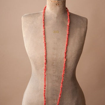Spiny Oyster Shell Beaded Necklace
