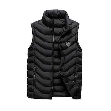 Boys & Men Emporio Armani Fashion Down Vest Cardigan Jacket Coat