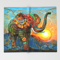 Elephant's Dream Throw Blanket by Waelad Akadan