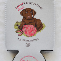 Lauren James - Girl's Best Friend Koozie