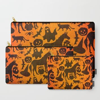 Halloween Spook Unicorn Carry-All Pouch by That's So Unicorny