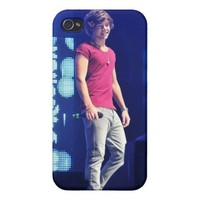 Harry Styles Cover For iPhone 4 from Zazzle.com