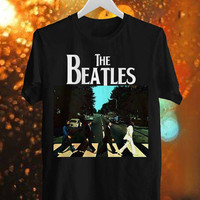 Beatles Abbey Road Tshirt men