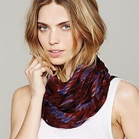 Asymmetrical Ikat Scarf at Free People Clothing Boutique