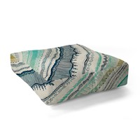 RosebudStudio Boho Fall Floor Pillow Square