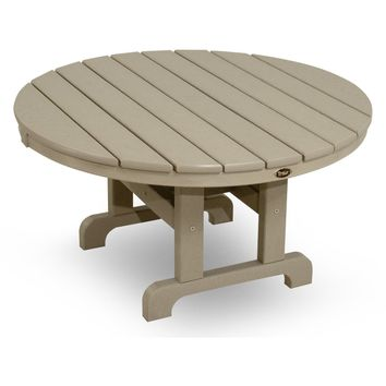 "Trex Outdoor Furniture Cape Cod Round 36"" Conversation Table"