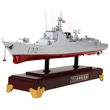1:400 Unique PLAN Model Ship - Military China 2010s Type 052C/052D Destroyer - 🎖️🇨🇳🚢⚓💣