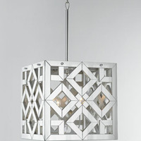 Regina-Andrew Design Mirrored Cube Pendant Light