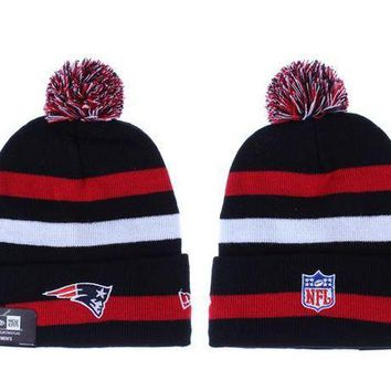 ESB8KY New England Patriots Beanies New Era NFL Football Hat