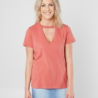 White Crow The Core T-Shirt - Women's T-Shirts in Mineral Red   Buckle