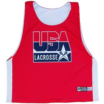 United States Lacrosse Dream Team Sublimated Lacrosse Pinnie