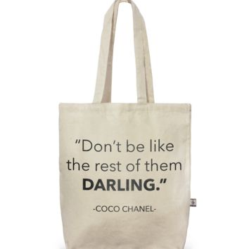 Tote- City Tote Don't Be Like The Rest