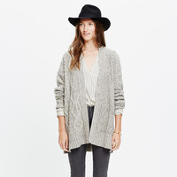 MARLED PANELSTITCH CARDIGAN SWEATER