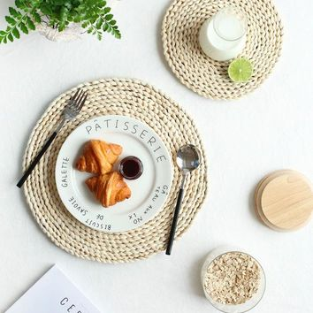 Woven Corn Rustic Placemats