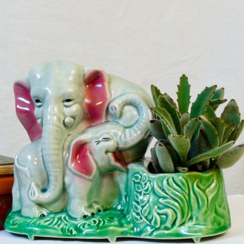 Elephant Love Planter