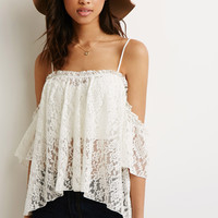 Spaghetti Strap Sexy Women's Fashion Short Sleeve Off Shoulder Lace Irregular Strapless Tops = 5895664321