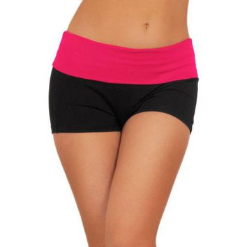 ac DCK83Q Fitness cotton pants casual pants running yoga large size ladies hot pants