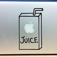 Apple Juice Box - Vinyl Macbook / Laptop Decal Sticker Graphic:Amazon:Computers & Accessories