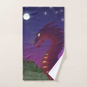 Medieval Dragon Bath Towel Set