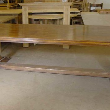 Canonbury - French Farmhouse Refectory Table Rustic Tables Kitchen