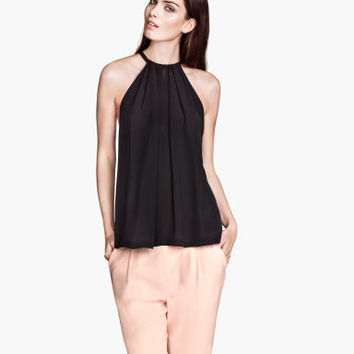 Halterneck top - from H&M