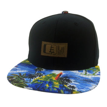 Sail Outrigger Print Hat