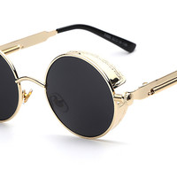 (6 Colors) Gothic Steampunk Sunglasses