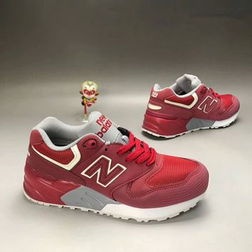 """New Balance 580"" Men Sport Casual N Words Scrub Leather Surface Retro Sneakers Running Shoes"