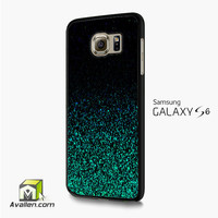 Mint Glitter Samsung Galaxy S6 /S6 Edge Case by Avallen