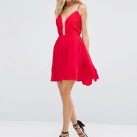 Majorelle Gallup Dress in Red at asos.com